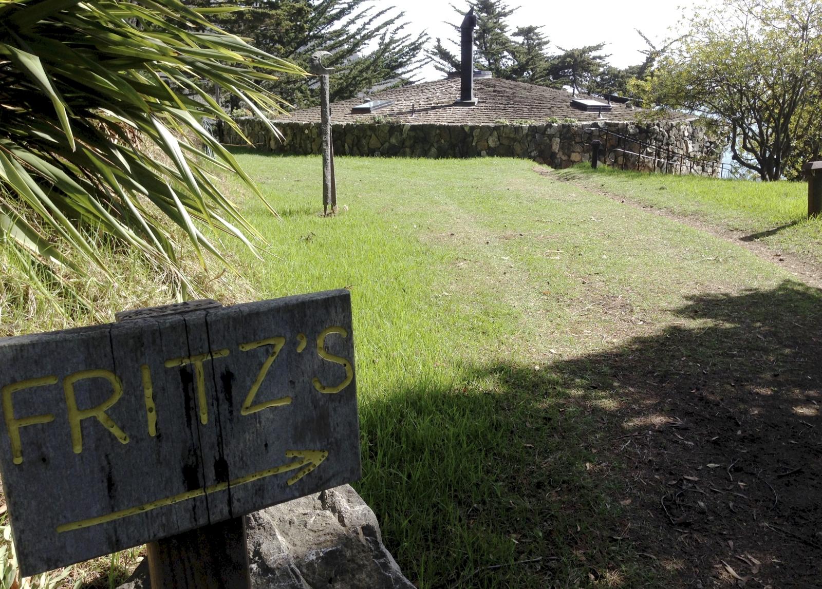 Fritz Perls cottage. Esalen 2014.