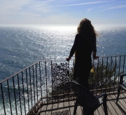 Esalen. Fritz Perls Cottage. Sun, Sea, Shadow, Peace.