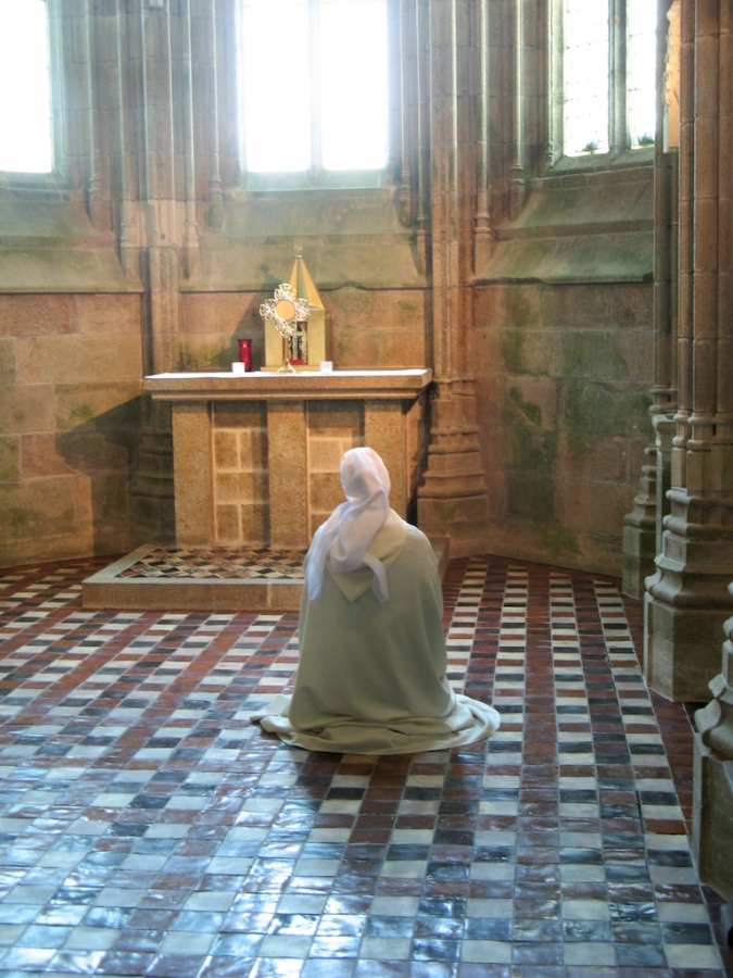 Nun Praying