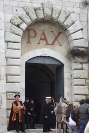 Abbey of Monte Cassino Entrance Pax: Peace