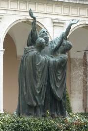 Statues in Garden Monte Cassino
