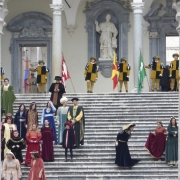 Abbey of  Monte Cassino Medieval Dress