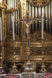 Abbey of  Monte Cassino Church Cross Altar
