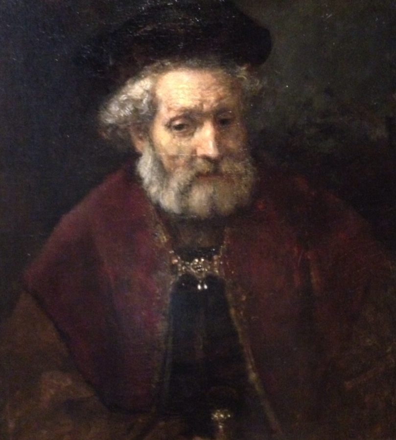 "Rembrandt's ""Portrait of a Bearded old Man with Beret"""