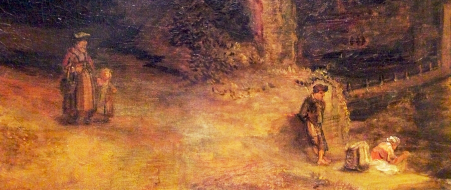 Rembrandt: The Mill Detail 1