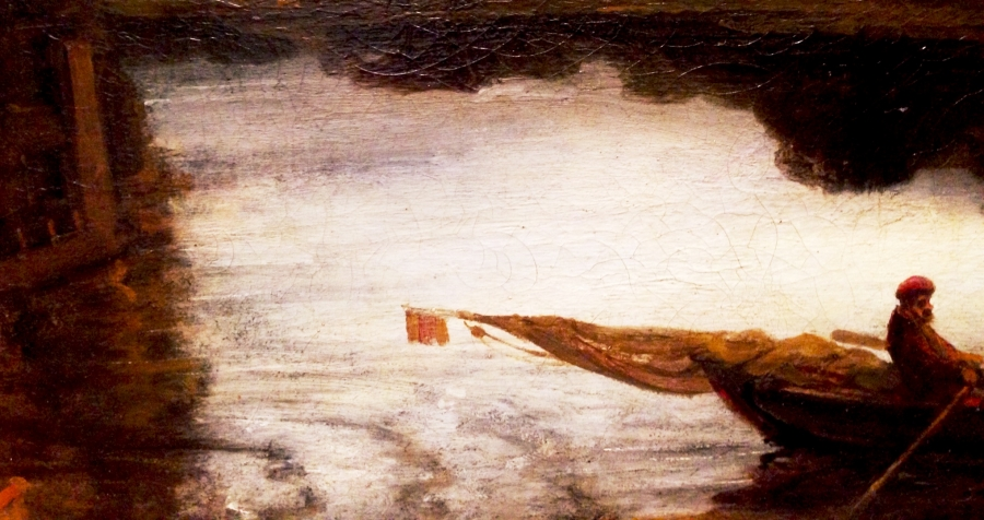 Rembrandt: The Mill Detail 2