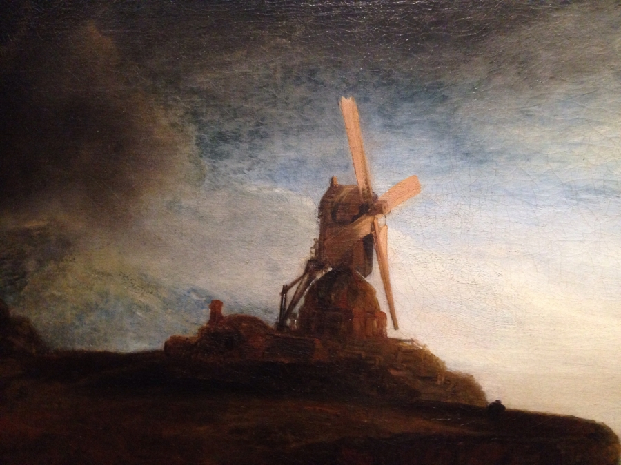 Rembrandt: The Mill Detail 3
