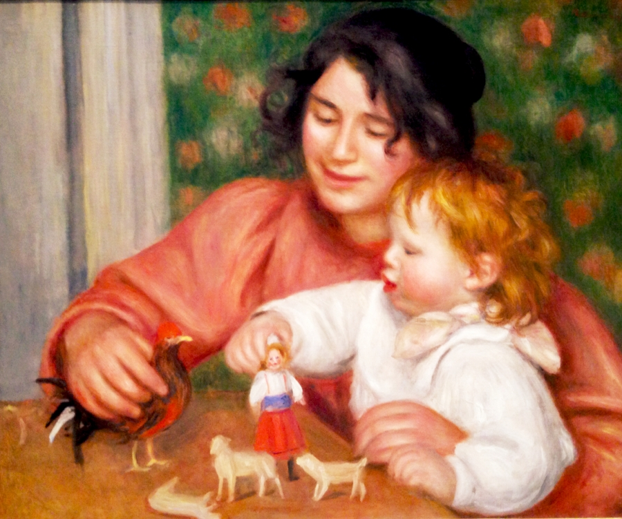 Renoir Child with Toys