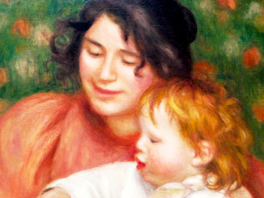 Renoir Child with Toys Detail 1
