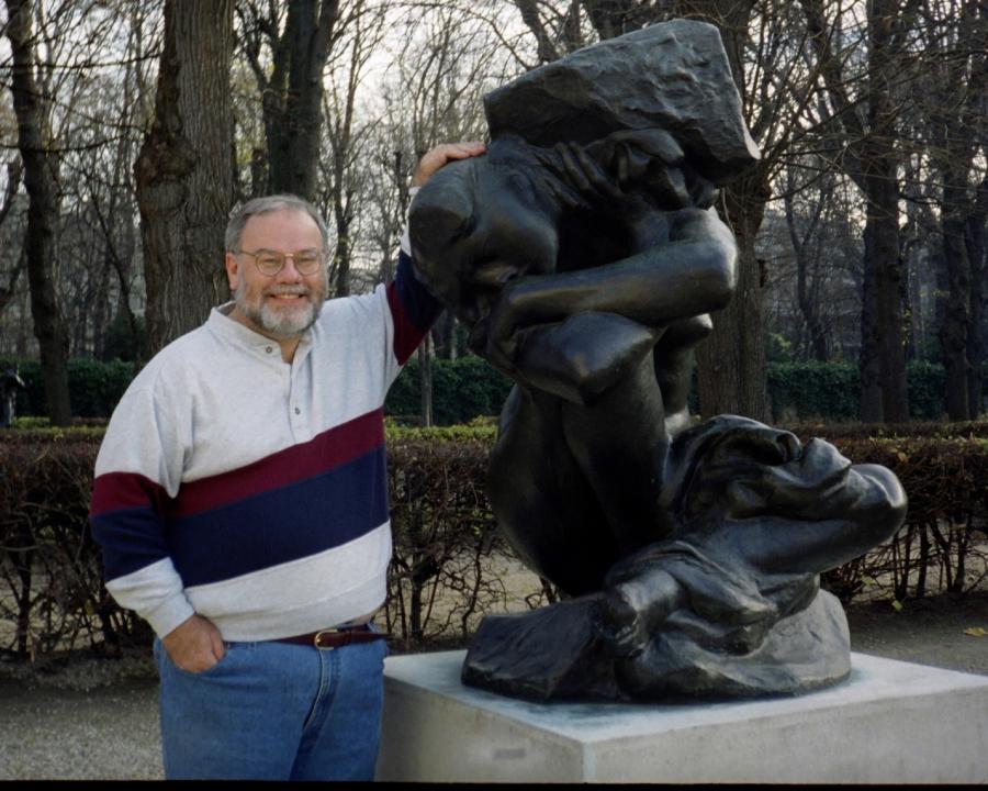 Rodin Fallen Caryatid Original Dec 97