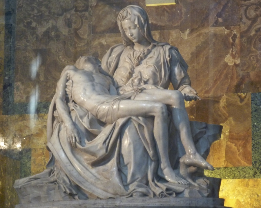 Saint Peters Basilica MIchelangelos Pieta