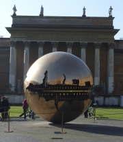 Vatican Museum Reflective Globe