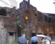 Ruins next to Wedding Cake Rome