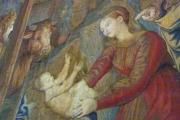 Vatican Museum Tapestry Madonna Child