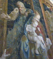 Vatican Museum Tapestry Madonna Child