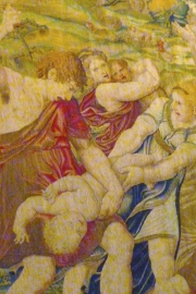 Vatican Museum Tapestry Killing of First Born