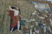 Vatican Museum Tapestry Christ Departing Tomb