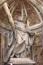 Saint Peters Basilica Statue