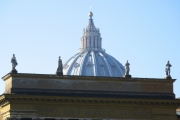 Statues and Dome, Vatican City