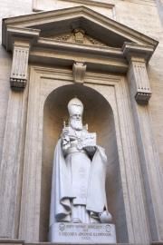 Saint Peters Basilica Saint Gregory