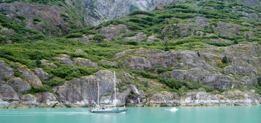 Sailboat Tracy Arm Glacier 2015-14