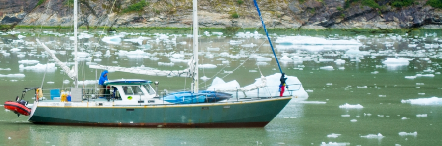 Sailboat Tracy Arm Glacier 2015-17