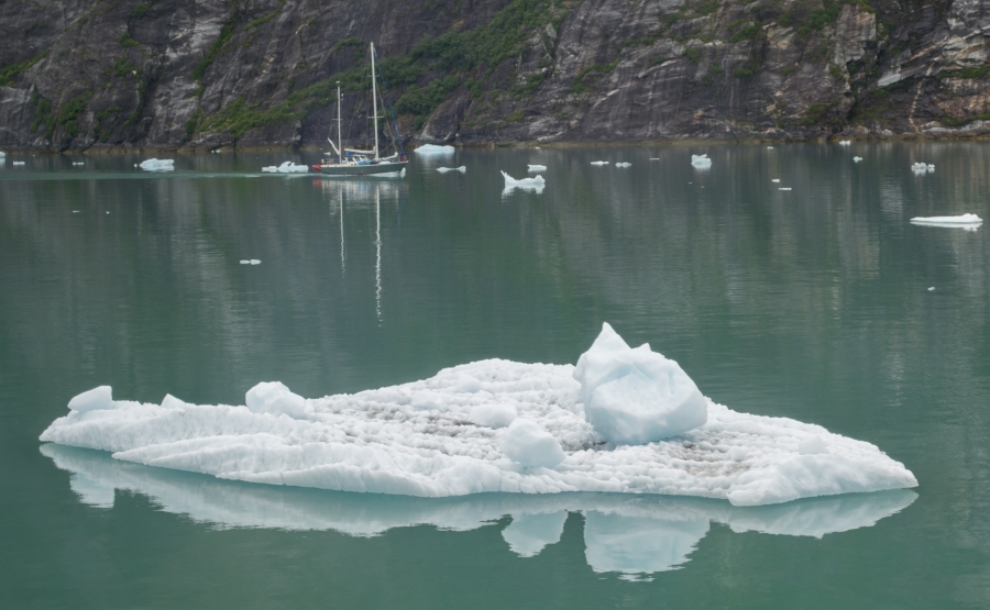 Sailboat Tracy Arm Glacier 2015-2
