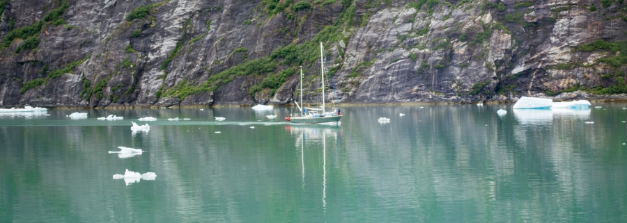 Sailboat Tracy Arm Glacier 2015-3