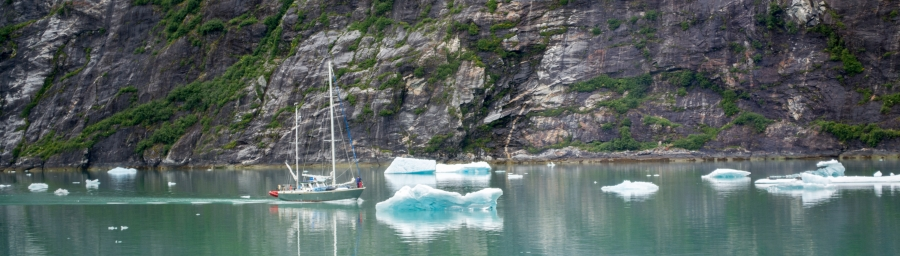 Sailboat Tracy Arm Glacier 2015-4