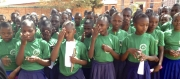 Seventh grade girls at Chipole, Tanzania School.