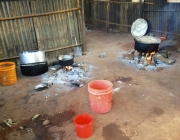 Cooking fires St. Agnes GIrls HS in Chipole.