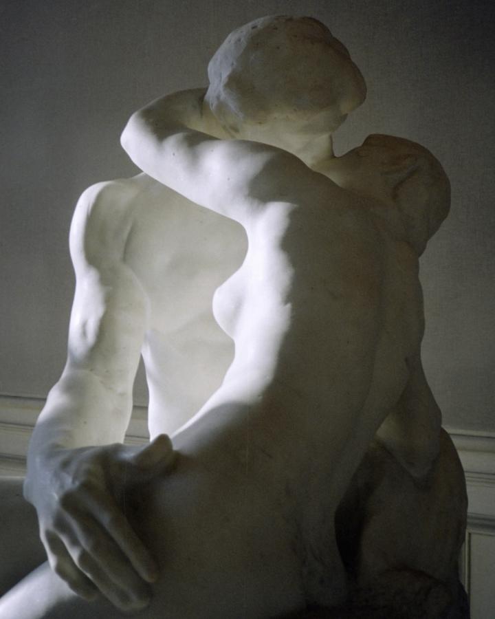 8X10 Rodin Lovers